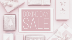 Shopping Tips for Boxing Day Sales
